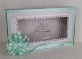 Кутия за аксесоарите за Кръщене в цвят минт