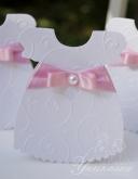 Покана рокличка за Кръщене на момиче в розово