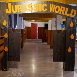 Украса Рожден ден - на тема - JURASSIC WORLD