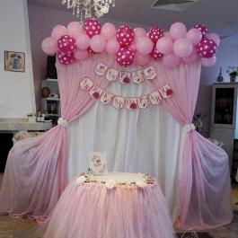 Украса Рожден ден - на тема Барби