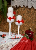 Сватба в червено