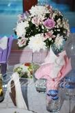 Сватба в лилаво и розово