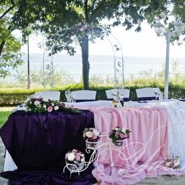 Лилаво и розово - Катерина и Дидо
