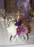 Сватба в лилаво