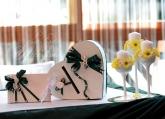 Кутия за пари и книга пожелания за Сватба