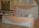 Сватба в прасковен цвят