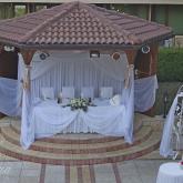 Сватбена украса - цвят капучино