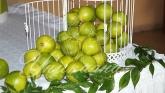 Сватба в зелени листа и лимони