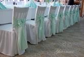 Калъф и панделка за стол - Сватба