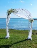 Арка от ковано желязо за сватба
