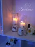 Свещници за декорация на сватба