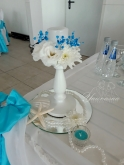 Свещник за маса младоженци