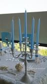 Свещник с пет свещи