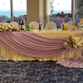 Сватба в светло лилаво - Жени и Теодор