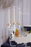 Свещник за декорация на сватба