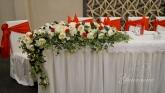 Аранжиране на младоженска маса
