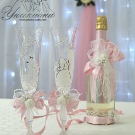 Шампанско и чаши - за СВАТБА