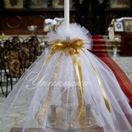 Украса и свещи - за Кръщене
