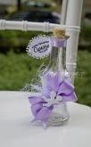 Шишенце за олио в лилаво