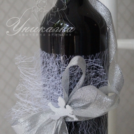 Украсено вино - за Светия Храм