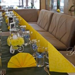 Украса на ресторант-за абитуриентски бал