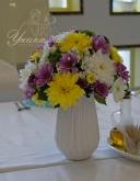Цветна аранжировка за маса гости