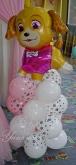 Фигура от балони по тема Пес патрул