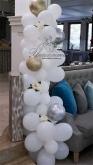Украса с балони за Кръщене