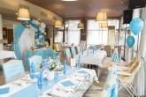 Аранжиране и декориране на ресторант за Кръщене