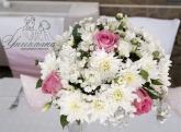 Украса за Кръщене в розово